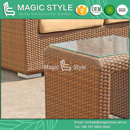 Garden Sofa Set Wicker Sofa Rattan Sofa Patio Sofa Set Combination Sofa (MAGIC STYLE) pictures & photos