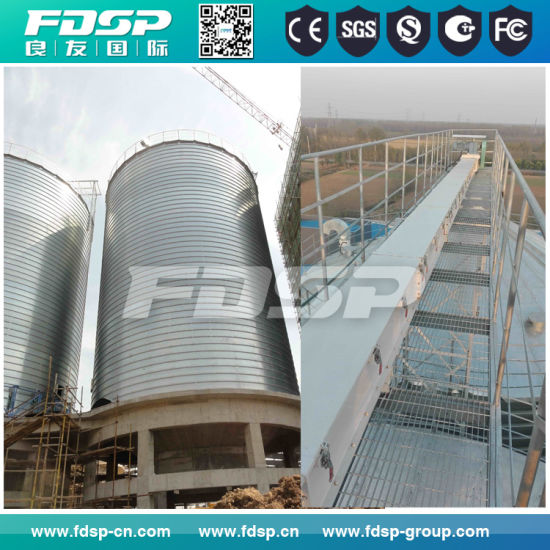 Widely Used Grain Storage Silo/Large Capacity Steel Silo Bins Manufacturer