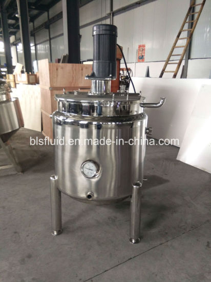 China Industrial Stainless Steel 200L LPG Double Jacket Mixer Milk ...