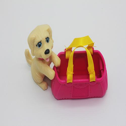 Promotion Plastic Mini Dog Toy for Kids