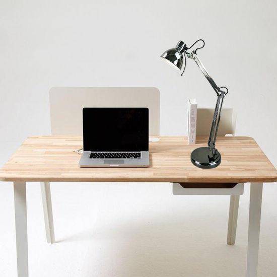 Peachy Black Chrome Classic Adjustable Reading Desk Lamp For Led Bulb Interior Design Ideas Inesswwsoteloinfo