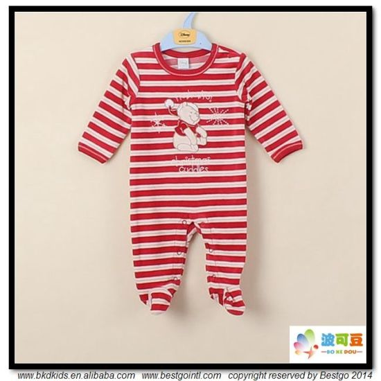 2018 New Style Baby Wear Stripe Printing Infant Rompers