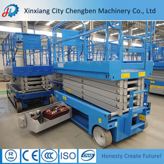 Hydraulic Scissor Lift 300kg Lift 9 Meters High-Raised Lift Table pictures & photos