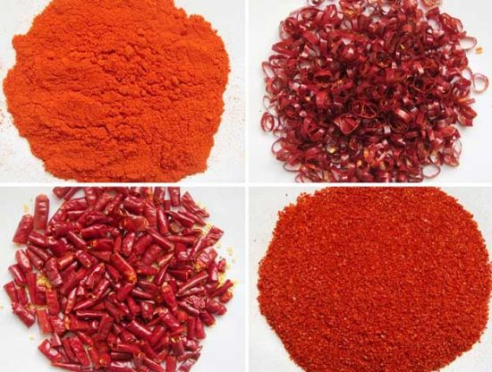 100% Pure Chilli Crushed with Seeds Chili Pieces Chilli Powder Red Chilli pictures & photos