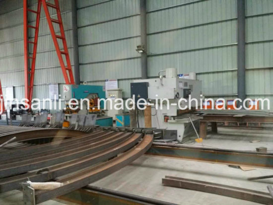 Jsl Brand Bending H Beam I Beam Processed Equipment pictures & photos