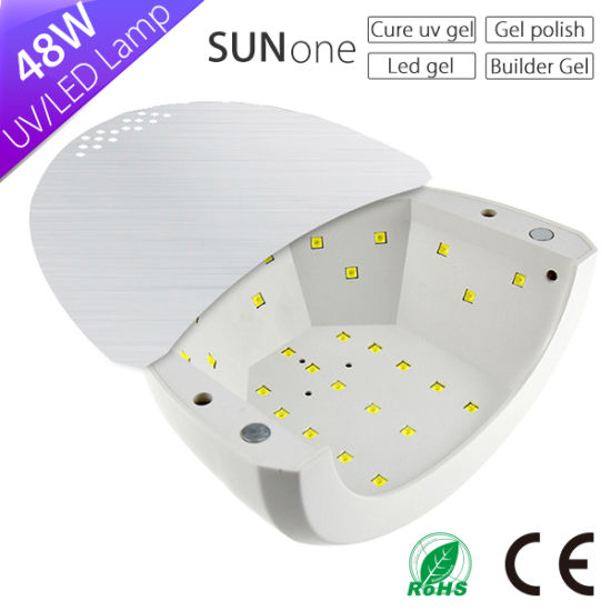 UV LED Gel Nail Lamp, Sun1 Sunone Sun Light LED Nail Lamp 48W 365nm+405nm pictures & photos