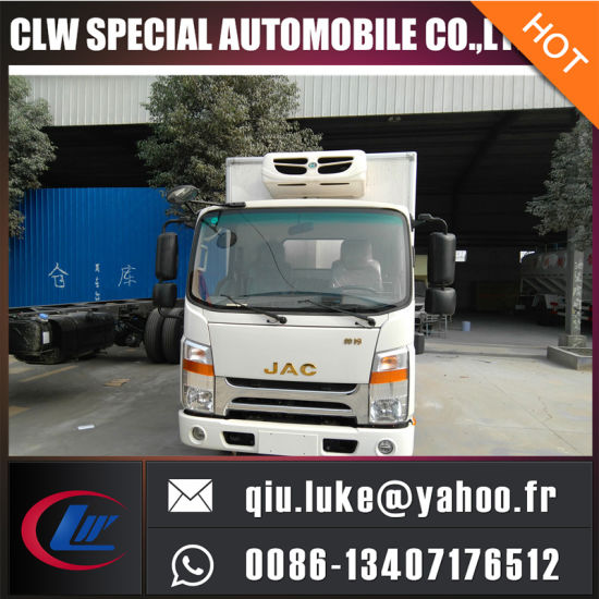 JAC Refrigerator Cooling Van, Mobile Cold Room, Refrigerated Truck for Sale pictures & photos