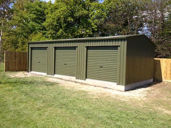 Steel Structure Garden Storage Shed