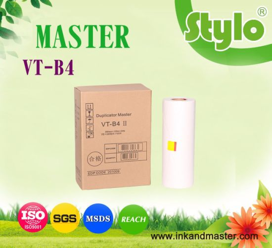 Vt B4 Master Roll for Use in Ricoh Vt2100/2150/2200/2250