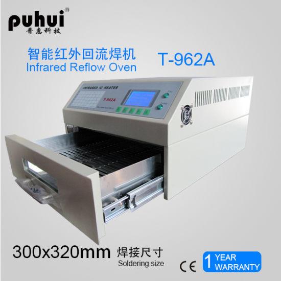 SMT Reflow Oven, 962A BGA Rework System, Soldering Machine, Infrared Reflow Oven, Desktop Reflow Oven Puhui T962A
