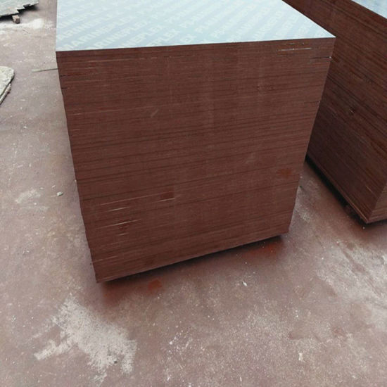 Top Grade WBP Glue 9-21mm Poplar Core Brown/Black Film Faced Plywood pictures & photos