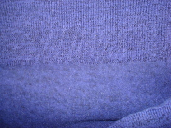 Coarser Knit Fleece Jersey Fabric pictures & photos