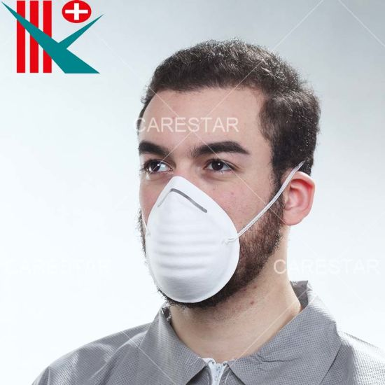 Wholesale Protective Disposable PP/Polypropylene Nonwoven Respirator / Dust Mask, Bfe 95% 99%, with Ce Certificate, Single-Use