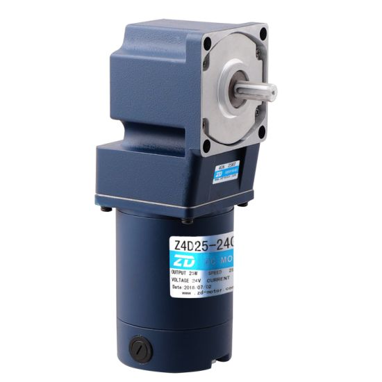 DC gear motor, electric motor