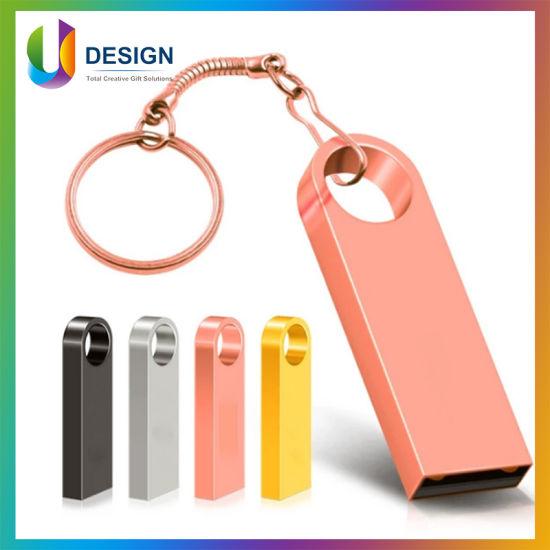 Key Chain 4GB 8GB 64GB USB 2.0 Memory Stick Promotional USB Pen Drive