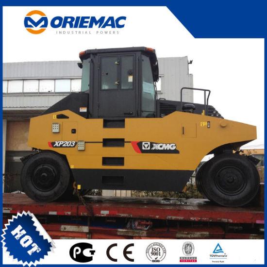 XCMG 20 Ton Vibratory Pneumatic Tyre Roller XP203 XP263