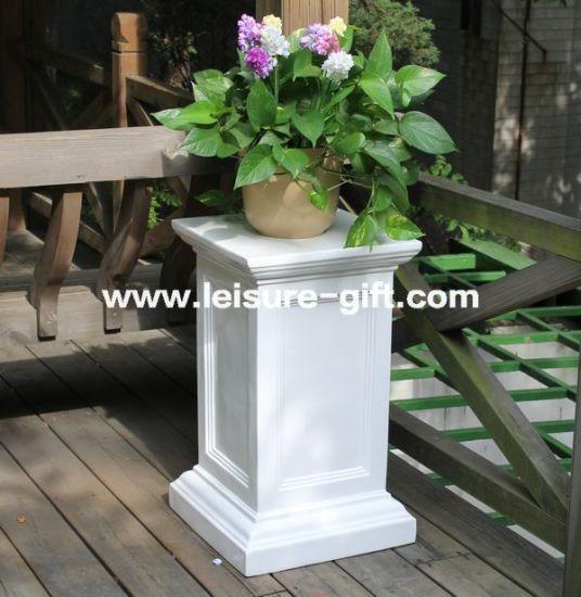 China Fo 182 Wedding Painting Fiberglass Flower Pot Stand China