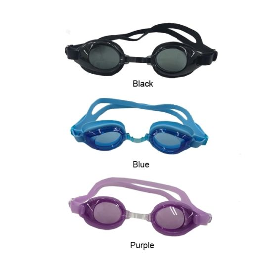 Hot Sale UV Anti Fog Blue Swimming Glasses Kid, Made in China