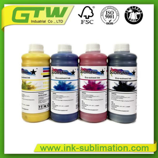 Sublistar Compatible Eco-Solvent Ink for Banner Printing