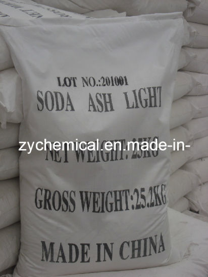 Soda Ash Dense 99.2%Min, Sodium Carbonate Light, for Glass and Textile Industry pictures & photos