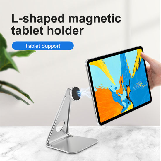 Aluminum Alloy Mobile Phone Holder Magnetic 360 Degree Rotation Tablet Phone Stand