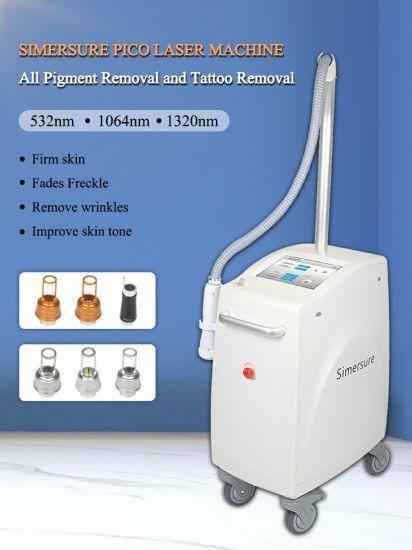 Picosecond Q Switch ND YAG Laser PRO Laer Tattoo Removal Machine