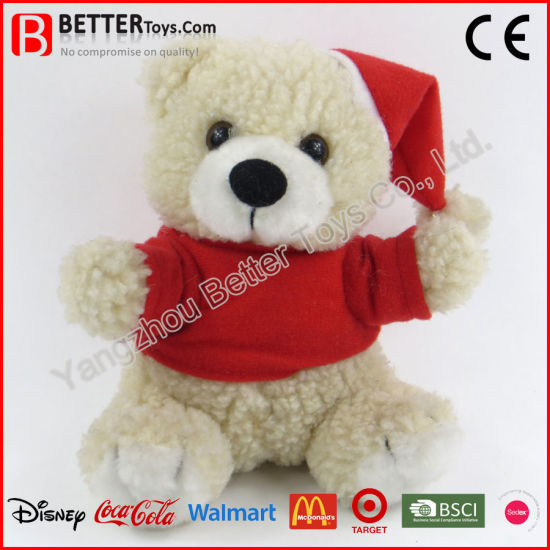 Christmas Gift Teddy Bear Doll Stuffed Animal Plush Children Kids Baby Toy