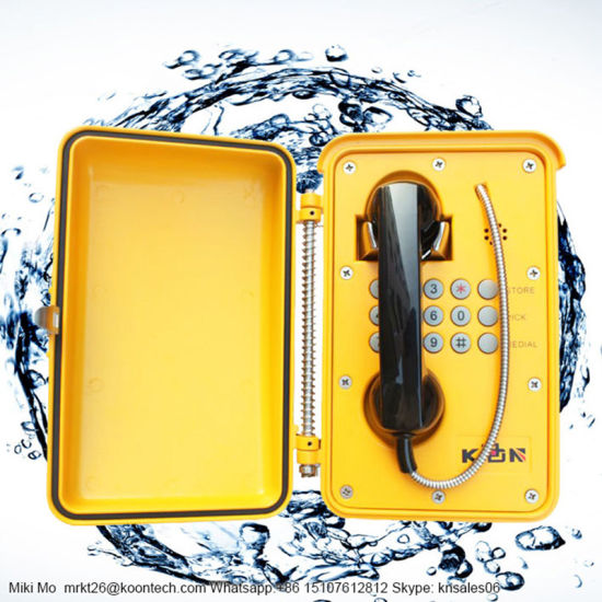 Best Sale Waterproof Weatherproof Telephone Outdoor Emergency VoIP Knsp-01t2s