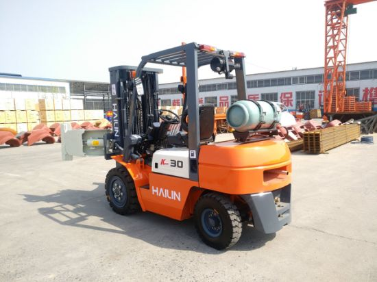 3.0ton Gasoline & LPG Forklift Truck Nissan Engine with Ce