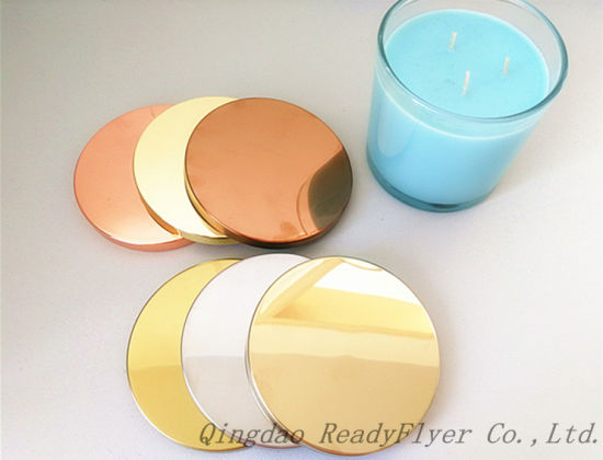 Dia 106mm Hot Sale Metal Lids for 14oz/15oz Scented Glass Jar Candle