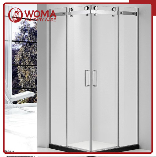 Woma Simple Bathroom Shower Cubic Cabin Room with Aluminum (Y685)