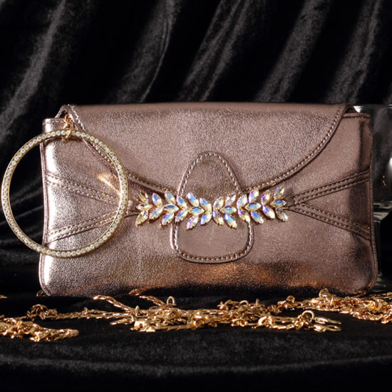 Wristlet Evening Bag Purse For Wedding And Parties