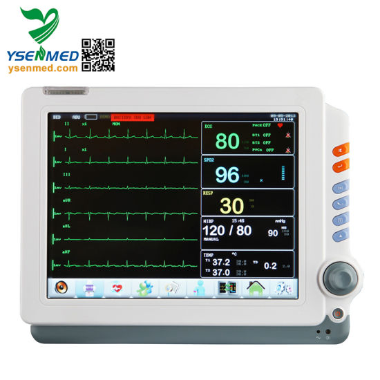 Hopital Yspm90c Multi Parameter Patient Monitor pictures & photos