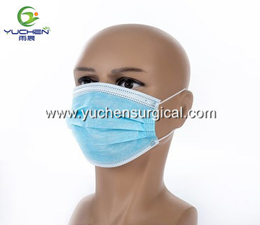 Manufacturer Promotion High Filtration Nonwoven 3ply Disposable Civil Face Mask
