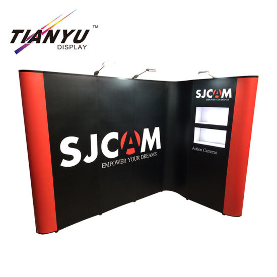 Trade Show Exhibit Booth Fabric Tension Display Booth