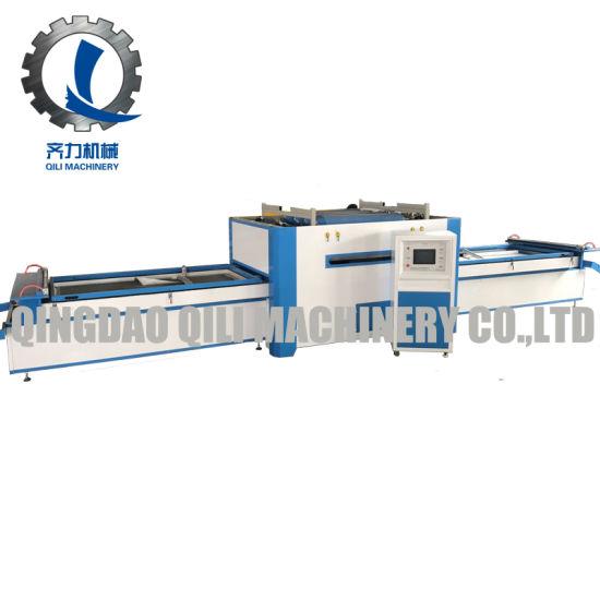 Woodworking PVC Vacuum Membrane Press Machine Ql2600TM-a for Furniture Making