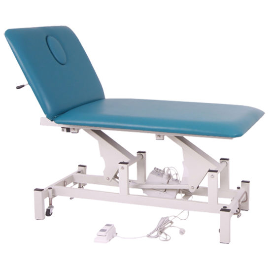 Medical Folding Cheap Exam Table for Sale pictures & photos