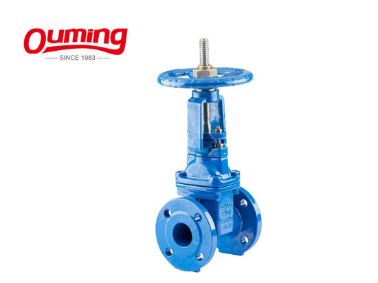 "Tkfm Cast Iron BS 5163 6"" Knife Class 150/300/600 Price List Gate Valve pictures & photos"