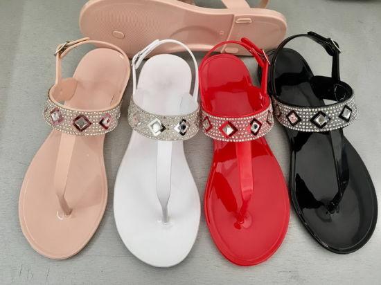 PVC Jelly Women Fashion Style Sandal