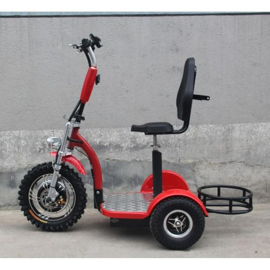 Electric Scooter Golf Scooter 3 Wheel Electric Zappy Scooter for Old People