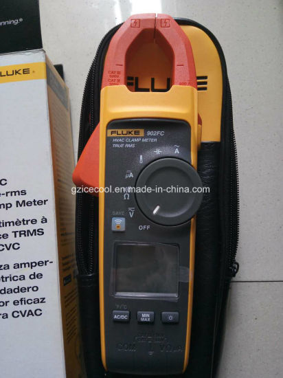 Original Fluke 902FC True-RMS HVAC Clamp Meter with Fluke Connect Wireless