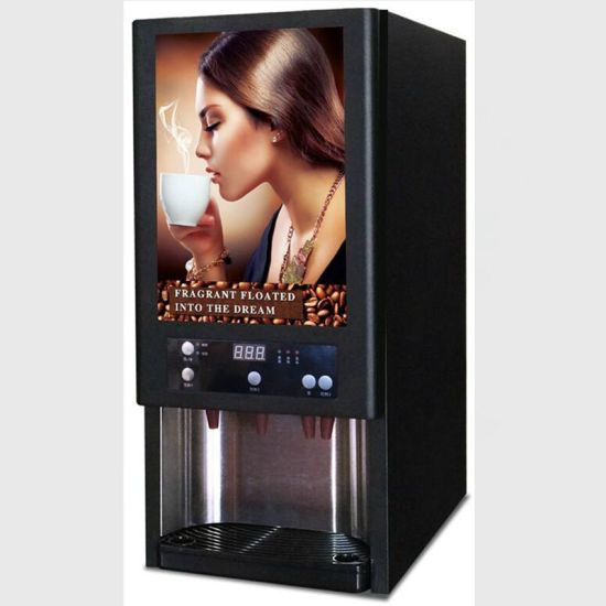 3 Hot 3 Cold Commercial Instant Drink Machine Coffee Vending
