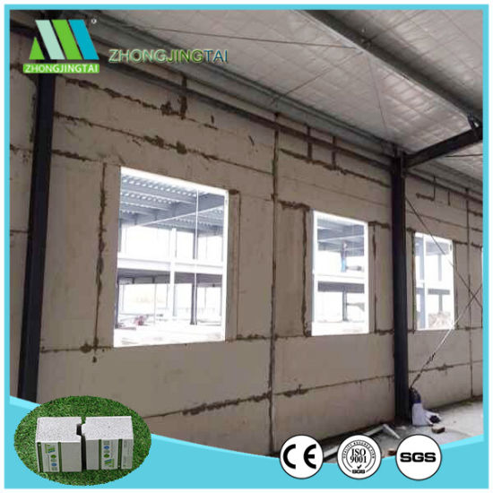Fast Construction Eps Foam Cement Wall Panels House Pictures Photos