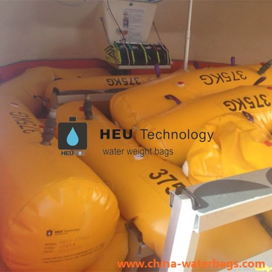 China Lifeboat Rescue Boat Buoyancy Testing Water Weight