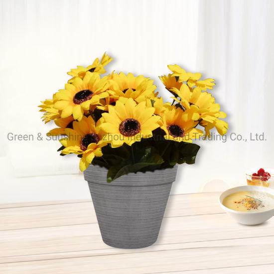 Manufacturer Wholesale Modern Nordic Style High Quality Decorative Tradition Plastic Flower Pot Plant Pot Garden Planter
