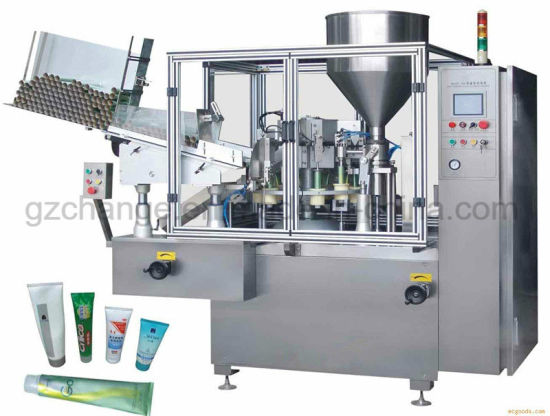 Tooth Paste Filling and Sealing Machine