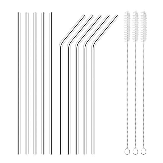 Eco Friendly Metal Stainless Steel Drinking Straws