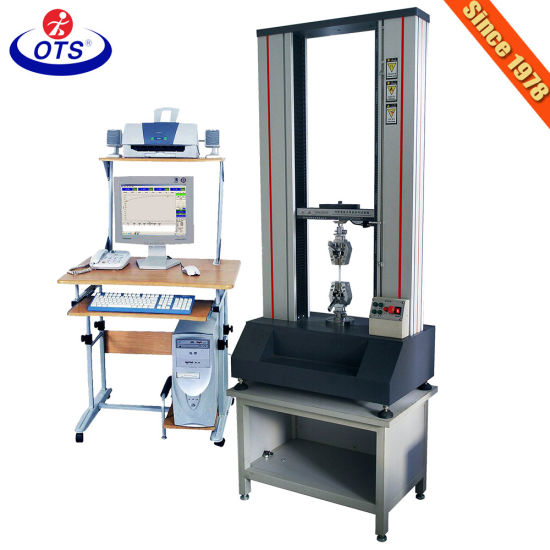 Utm Electronic Desktop Universal Tensile Strength Testing Equipment for Plastic pictures & photos