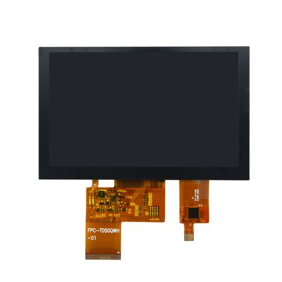 5.0 Inch TFT LCD Module with Capacitive Touch Panel 800X480 LCD Screen with Touch Screen pictures & photos