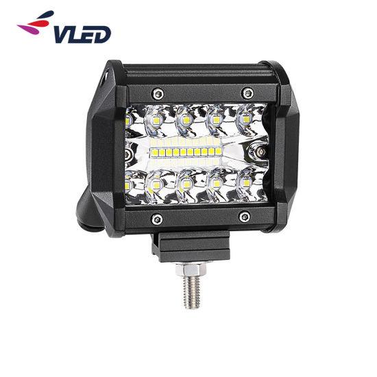 3 Row 3W 12V/24V CREE LED White Brightness LED Lights Bar Light Pod